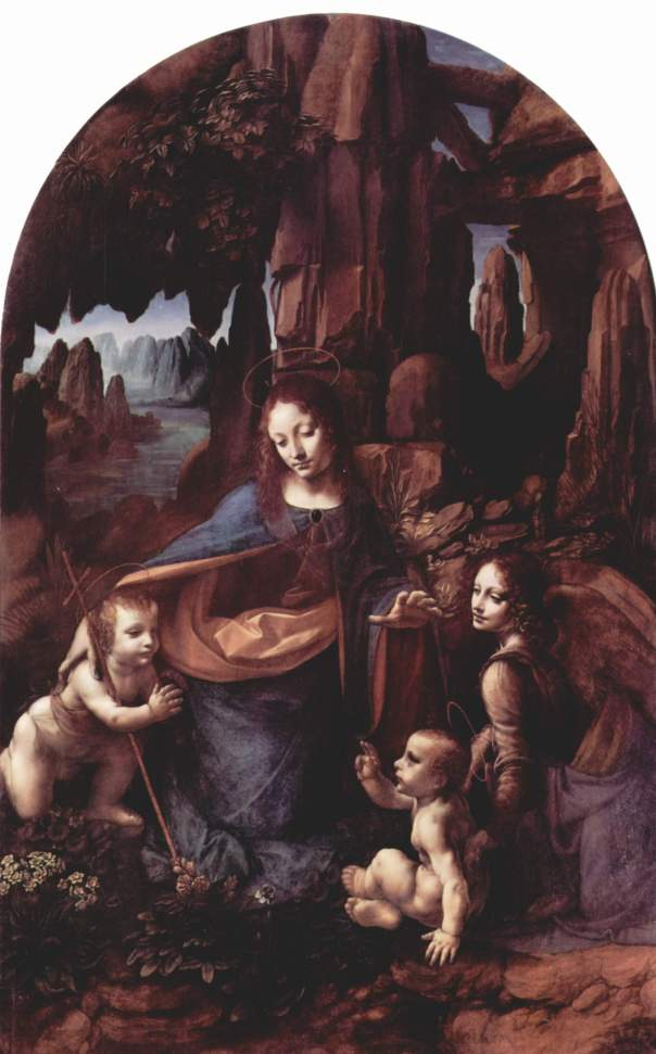 Virgin of the Rocks :Current Location Louvre ,Paris